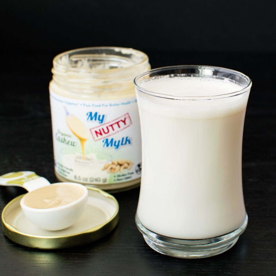 My Nutty Mylk from Blue Mountain Organics (Review) - a very pure, extremely smooth nut butter for making instant dairy-free mylk beverage