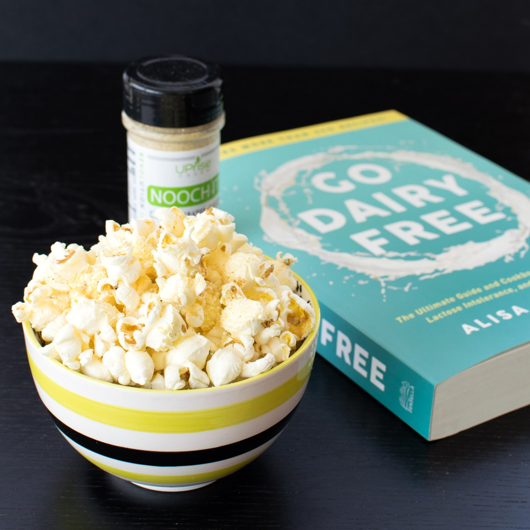 Nooch It Cashew Grated Cheeze (dairy-free, gluten-free, and vegan)