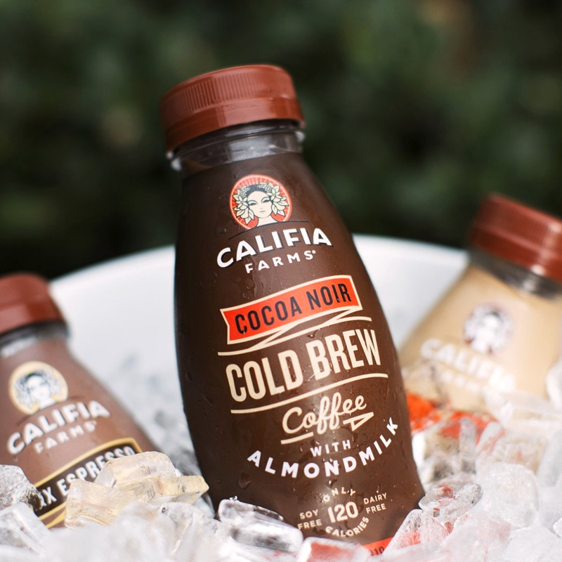 15 Cool, Creamy Dairy-Free Coffee Drinks for on the Go (Califia Cold Brew pictured)
