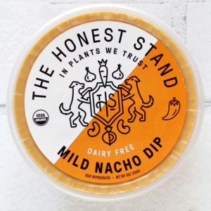 The Honest Stand Reviews and Info - dairy-free, vegan, cheesy, creamy dips (also great as sauces) Pictured: Mild Nacho