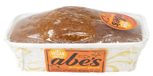 Abe's Vegan Pound Cakes Reviews and Information - dairy-free, egg-free, nut-free, vegan, and in EIGHT flavors. Pictured: Ginger Spice
