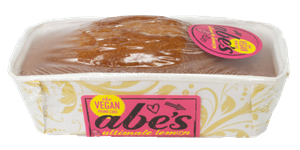 Abe's Vegan Pound Cakes Reviews and Information - dairy-free, egg-free, nut-free, vegan, and in EIGHT flavors. Pictured: Ultimate Lemon