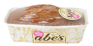 Abe's Vegan Pound Cakes Reviews and Information - dairy-free, egg-free, nut-free, vegan, and in EIGHT flavors. Pictured: Original Vanilla