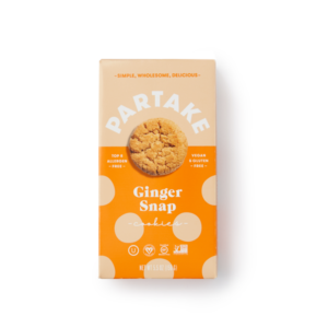 Partake Foods Crunchy Cookies Reviews and Info - Vegan, Gluten-Free, Top Allergen-Free