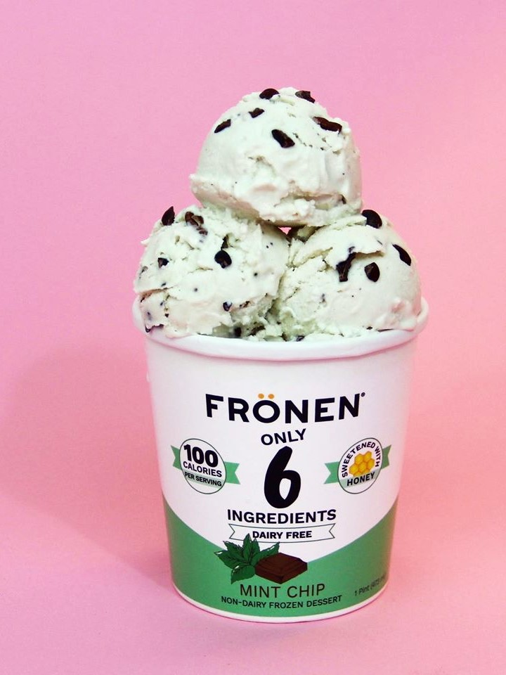 The Best Dairy-Free Ice Cream Pints that You Can Buy at the Grocer (all vegan, many gluten free). Pictured: Fronen Non-Dairy Frozen Dessert