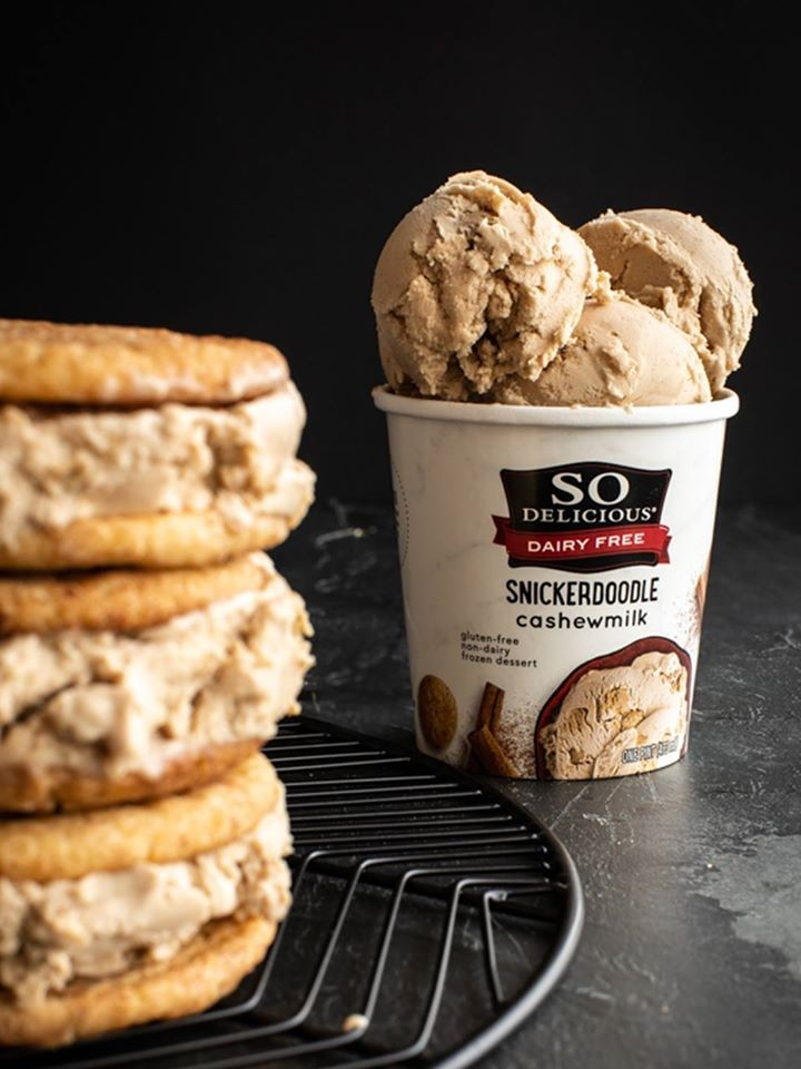 The Best Dairy-Free Ice Cream Pints that You Can Buy at the Grocer (all vegan, many gluten free). Pictured: So Delicious Cashewmilk Dairy-Free Ice Cream