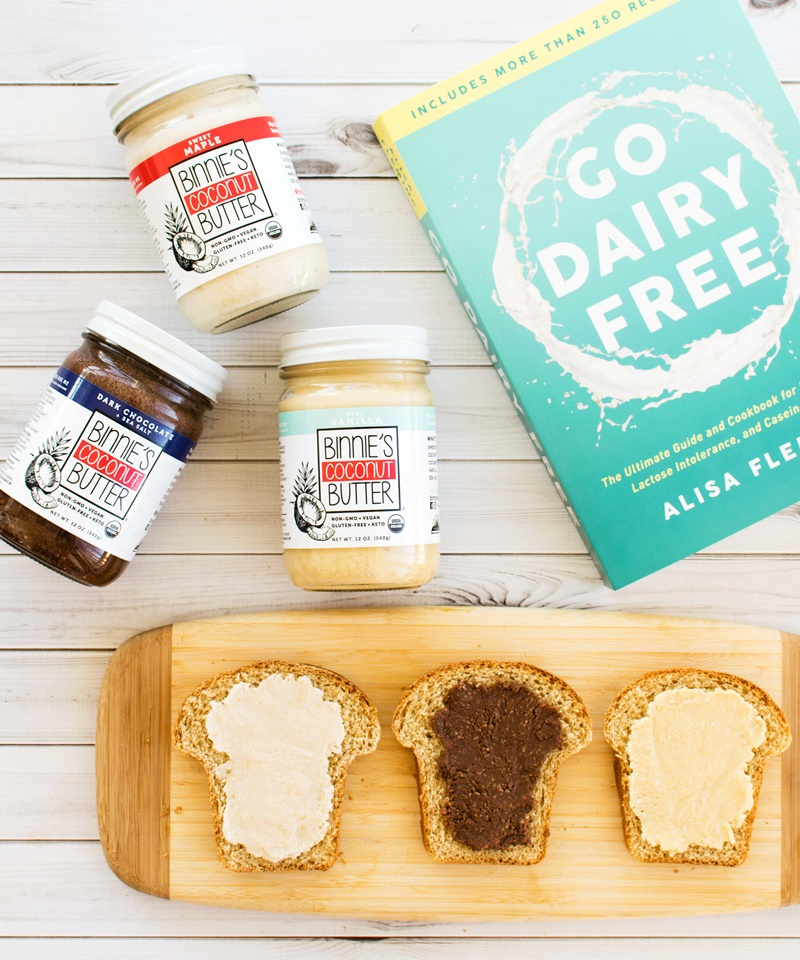 Binnie's Coconut Butter (Review) - Dairy-free, Gluten-free, Soy-free, Peanut-free & Vegan in delicious Paleo-friendly Flavors