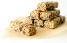 The Best Chewy No Bake Granola Bars Recipe - naturally dairy-free, gluten-free, and vegan with nut-free option