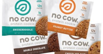 No Cow Protein Cookies (Review) - dairy-free, plant-based, high-protein and low-sugar