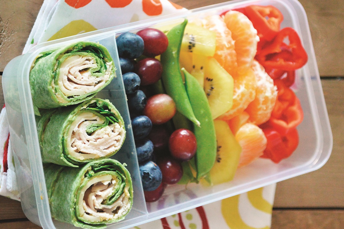 Rainbow Bento Box with Deli Spirals Recipe - Go Dairy Free