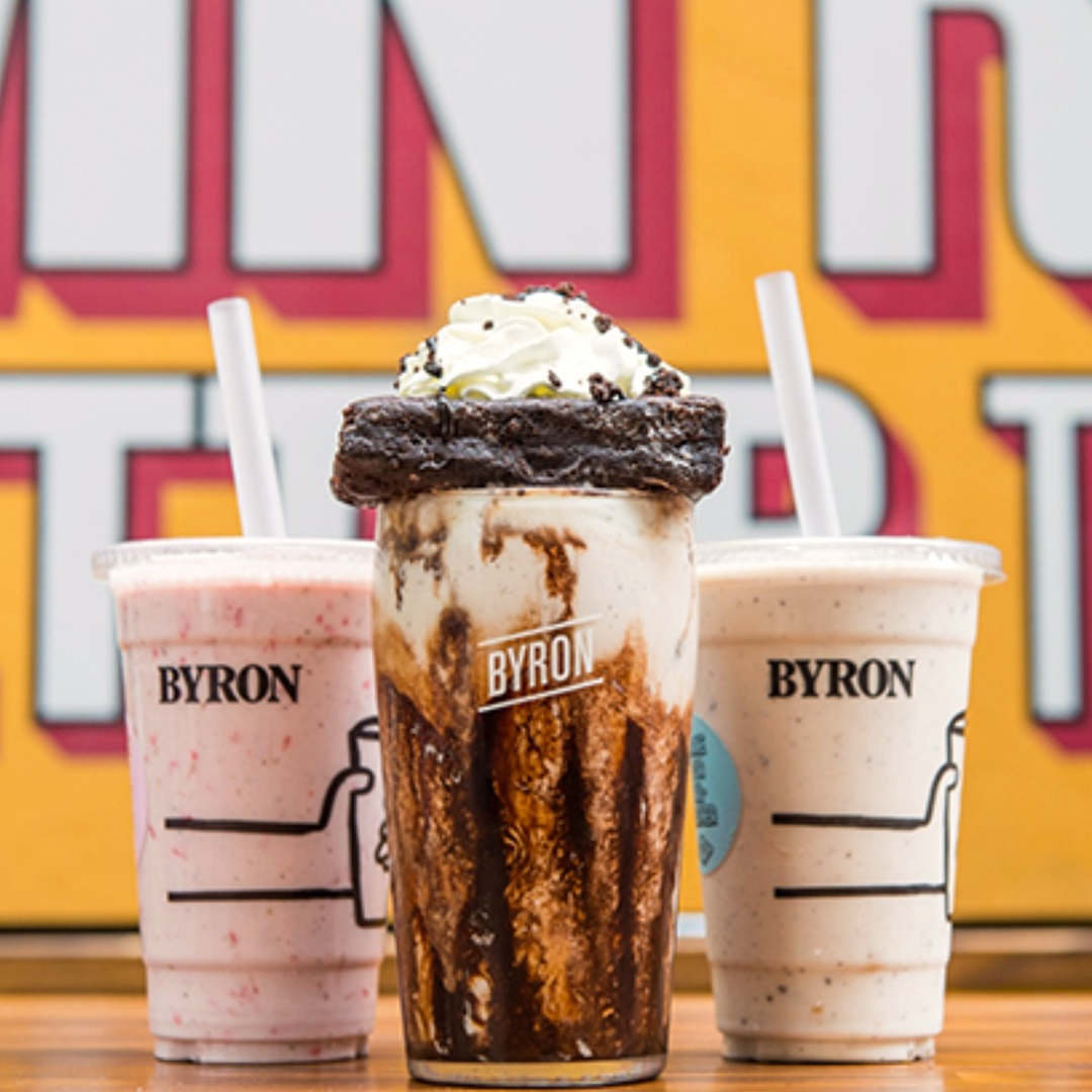 Byron Burger in the UK Now Has a Vegan Beetnik Burger, Vegan Milkshakes, and more Dairy-Free Options