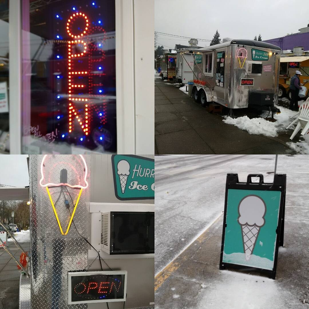 Hurry Back Ice Cream Keeps it Cool for Vegan Customers in Portland, Oregon - they have several dairy-free flavors