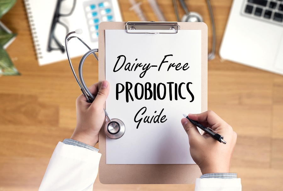 Dairy-Free Probiotics - Your Guide to Supplements, Foods, and Information #probiotics #dairyfreeprobiotics #veganprobiotics