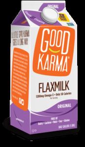 Good Karma Flaxmilk Reviews and Information - Dairy-Free Milk Beverage in several vegan, gluten-free, nut-free, and soy-free varieties