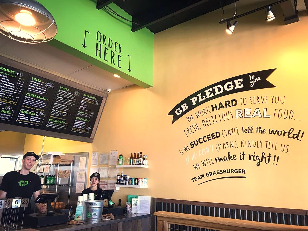 Grassburger Shakes Up the Fast Food Scene in Durango and Albuquerque - burgers, fries and desserts for vegan, dairy-free, gluten-free and paleo diners