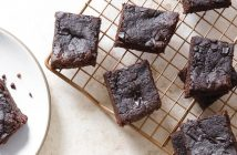 Instant Pot Flourless Brownies Recipe from The Fresh & Healthy Instant Pot Cookbook (gluten-free, dairy-free, optionally vegan and paleo)