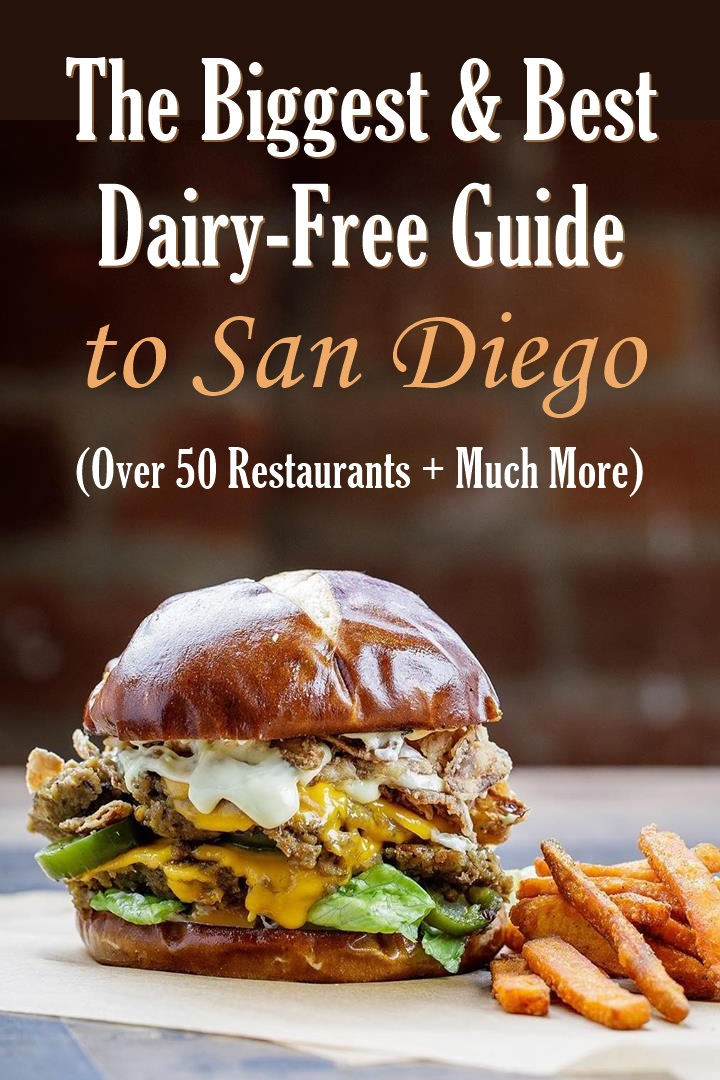 San Go Dairy Free Guide With Over 50 Sweet Savory Restaurants