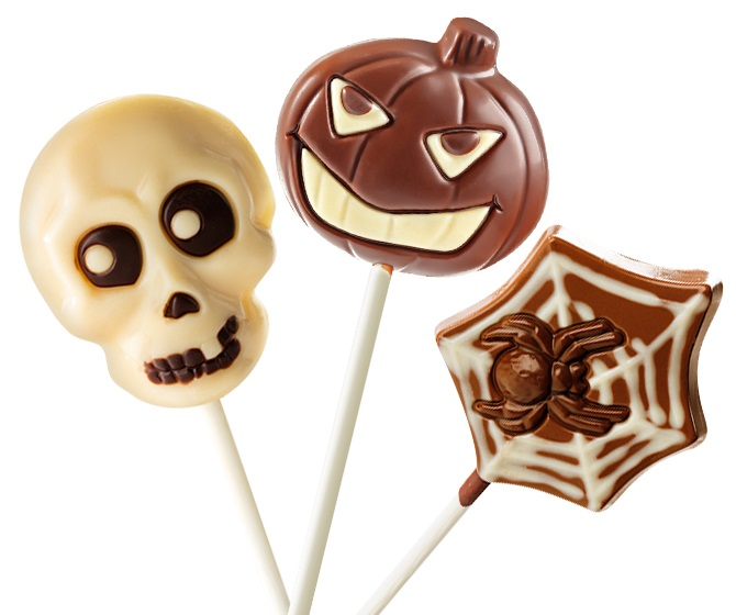 The Cutest + Tastiest Dairy-Free and Vegan Halloween Treats (Pictured - No Whey Chocolate)