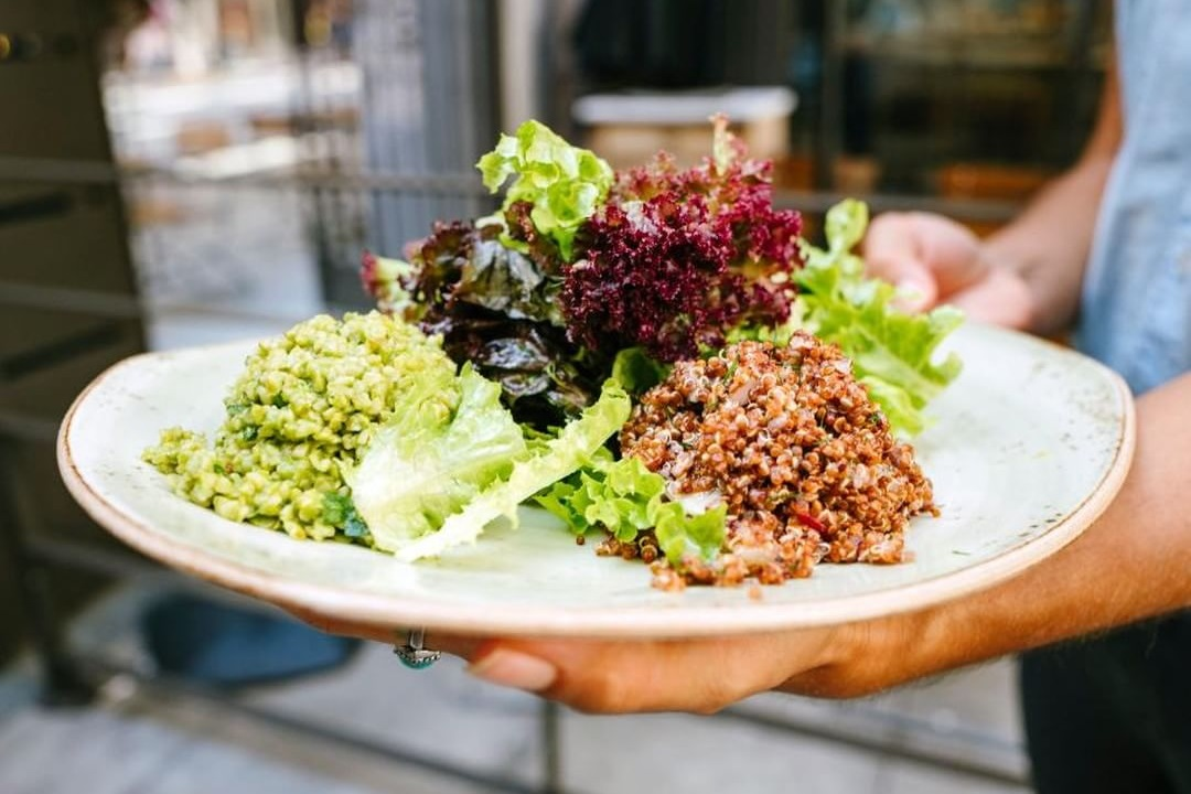 Tender Greens is a Fast Casual California Chain that's expanding into other states. Tons of dairy-free options, vegan options, and an allergen sheet.