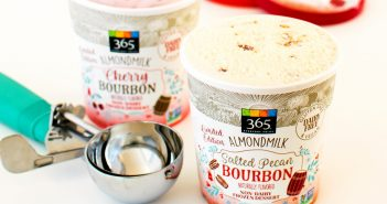 5 STore Brands of Dairy-Free Ice Cream You Didn't Know Existed (pictured: Whole Foods 365 Holiday Flavors!)