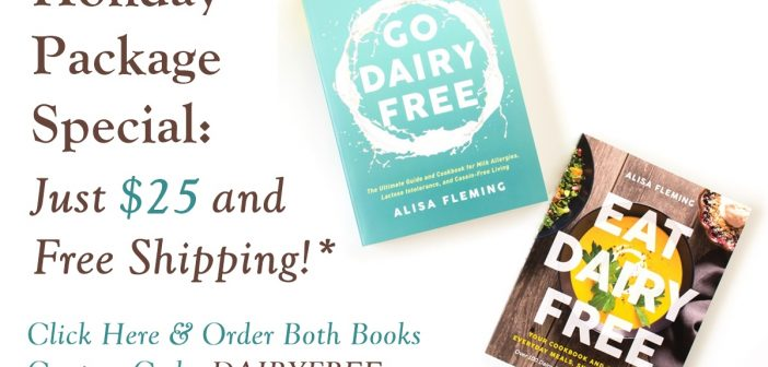 Dairy-Free TWO-Book Bundle Deal with Free Shipping!