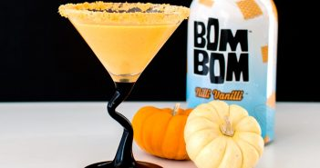 Vegan Pumpkin Pie Martini Recipe with Creamy Cocktail Option - dairy-free and gluten-free