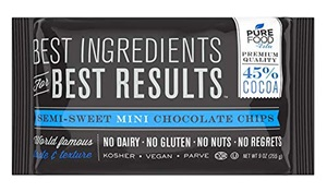 Barry Callebaut Pure Food No Dairy No Gluten No Nuts Chocolate Chips
