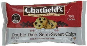 Chatfield's Vegan Chocolate Chips and Carob Chips