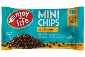 Enjoy Life Allergy-Friendly Chocolate Chips (dairy-free, nut-free, soy-free, and vegan)