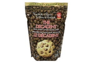 President's Choice The Decadent Dairy-Free Chocolate Chips