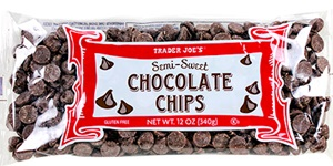 Trader Joe's Non-Dairy Chocolate Chips