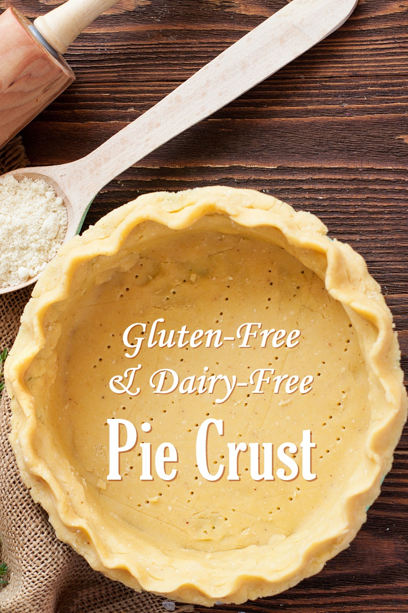 Easy Gluten-Free Dairy-Free Pie Crust Recipe from the bakers at Pamela's - perfect every time!