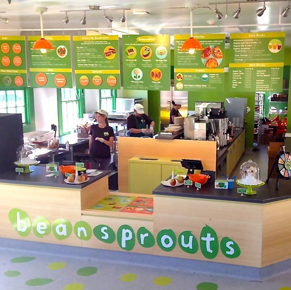 Bean Sprouts Cafe is a kid-friendly chain with an allergy-friendly menu and locations at museums, zoos, and parks