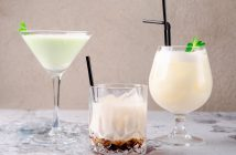 Creamy Dairy-Free Grasshopper Cocktail Recipe with Minty Mocha Option (also vegan, gluten-free, and allergy-friendly)