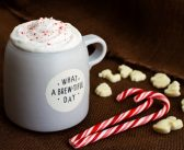 Vegan Peppermint White Chocolate Mocha Coffee at Home!