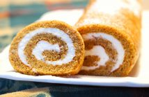Dairy-Free Pumpkin Roll Recipe - A twist on Libby's Classic Recipe