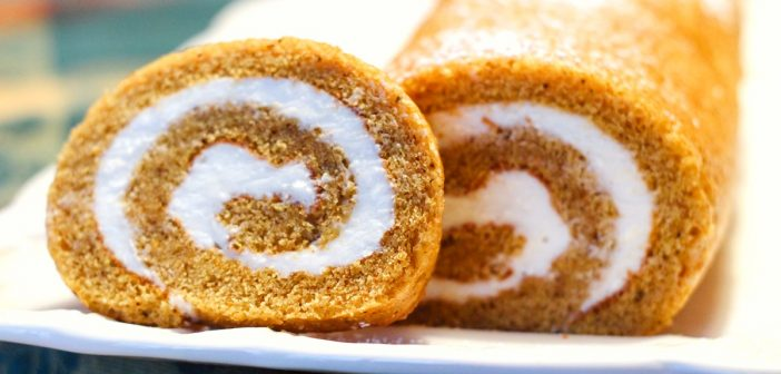 This Dairy-Free Pumpkin Roll Takes the Cake!