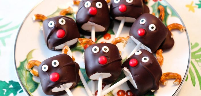 Reindeer Pops That Are Fun to Make & Allergy-Friendly for All