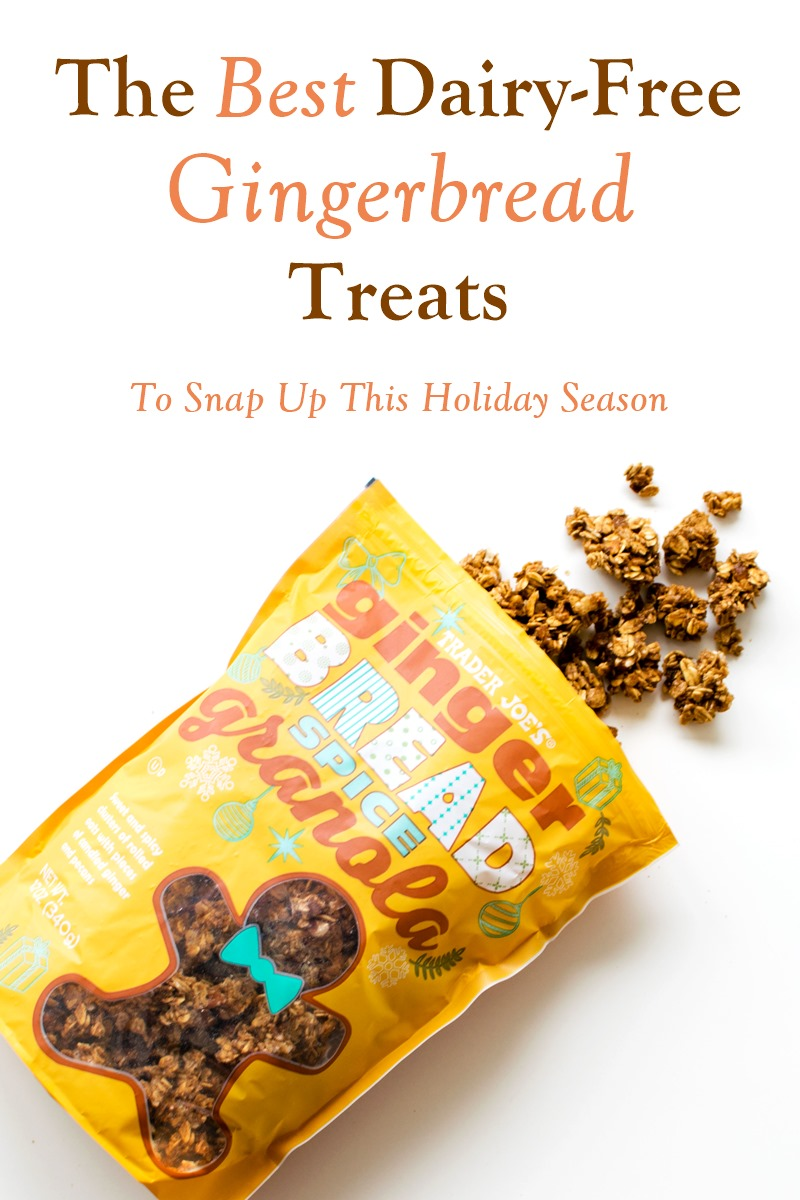25 Dairy-Free Gingerbread Treats to Snap Up This Holiday Season (with vegan, gluten-free, and allergy-friendly options!)