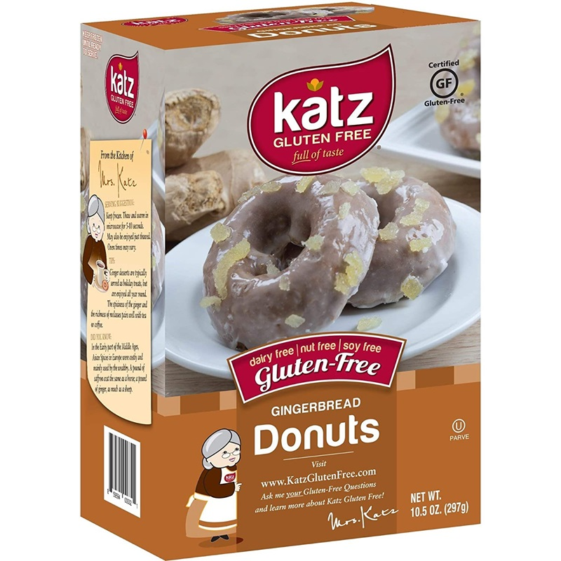 Gluten-Free Dairy-Free Gingerbread Donuts - and more gingerbread goodies!