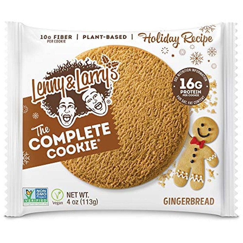Lenny & Larry's Gingerbread Complete Cookies - dairy-free and vegan.