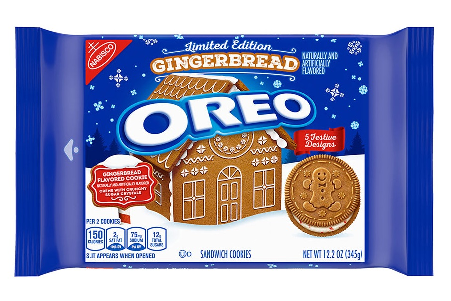 Yes, there are Gingerbread Oreos made without dairy!