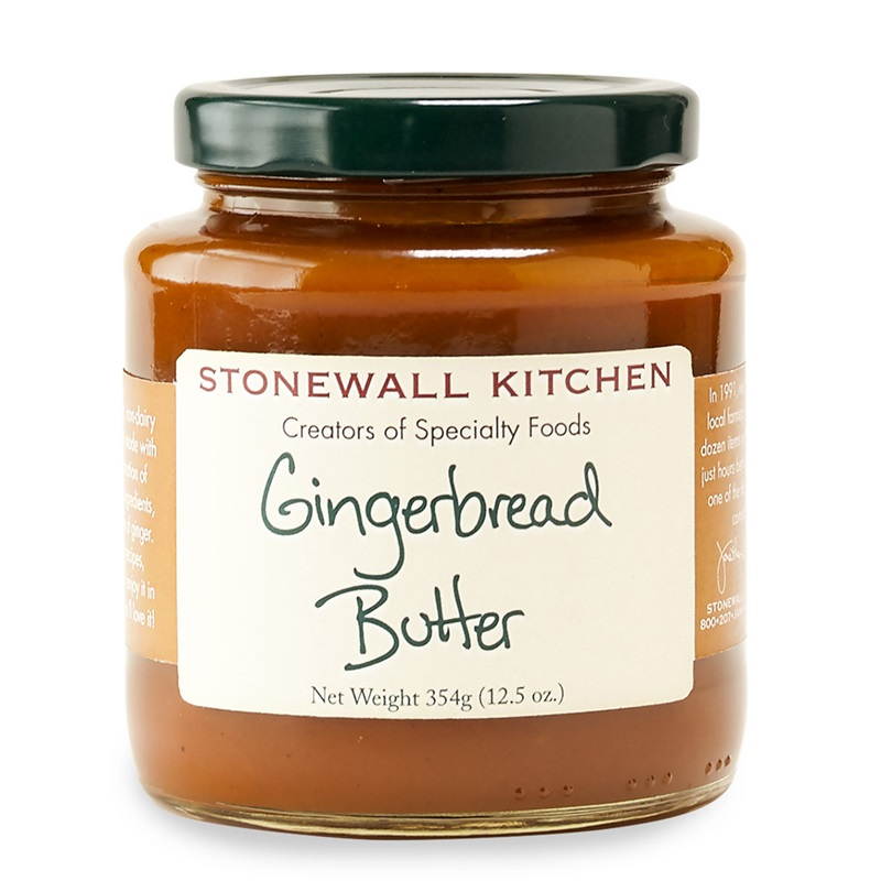Stonewall Kitchen Gingerbread Butter - a delicious dairy-free treat!