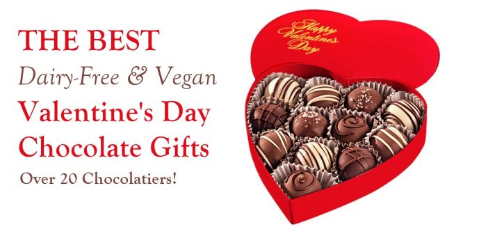 The Best Dairy-Free Valentine Chocolate To Give and To Receive