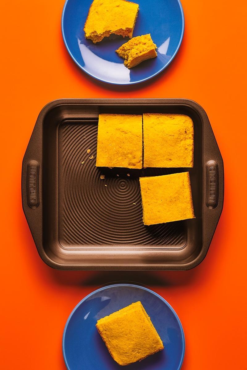 Dairy-Free Pumpkin Cornbread Recipe - sweetened with honey!