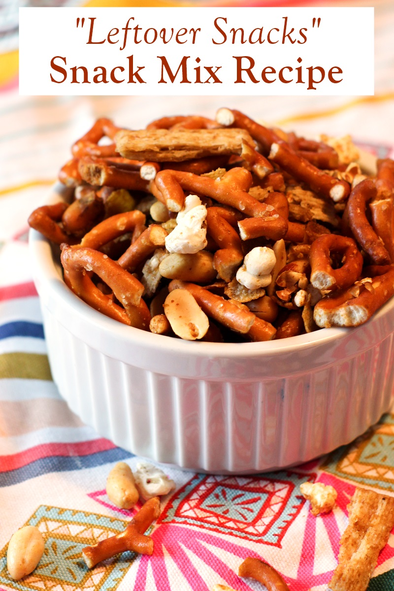 "How to Use Up Leftover Snacks and Treats! Dairy-free and vegan ideas and a ""leftover snacks"" snack mix recipe! Use up cookies, fruits, nuts, chips, crackers, candy canes, and more"