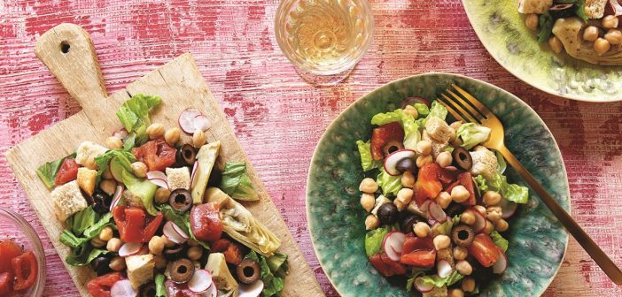 Plant-Based Panzanella Salad with a Delicious Pantry-Style Twist