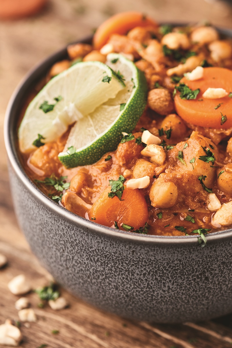 Slow Cooker Coconut Curry Chili