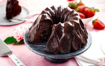 Tunnel of Fudge Bundt Cake Recipe - vegan and allergy-friendly with gluten-free option