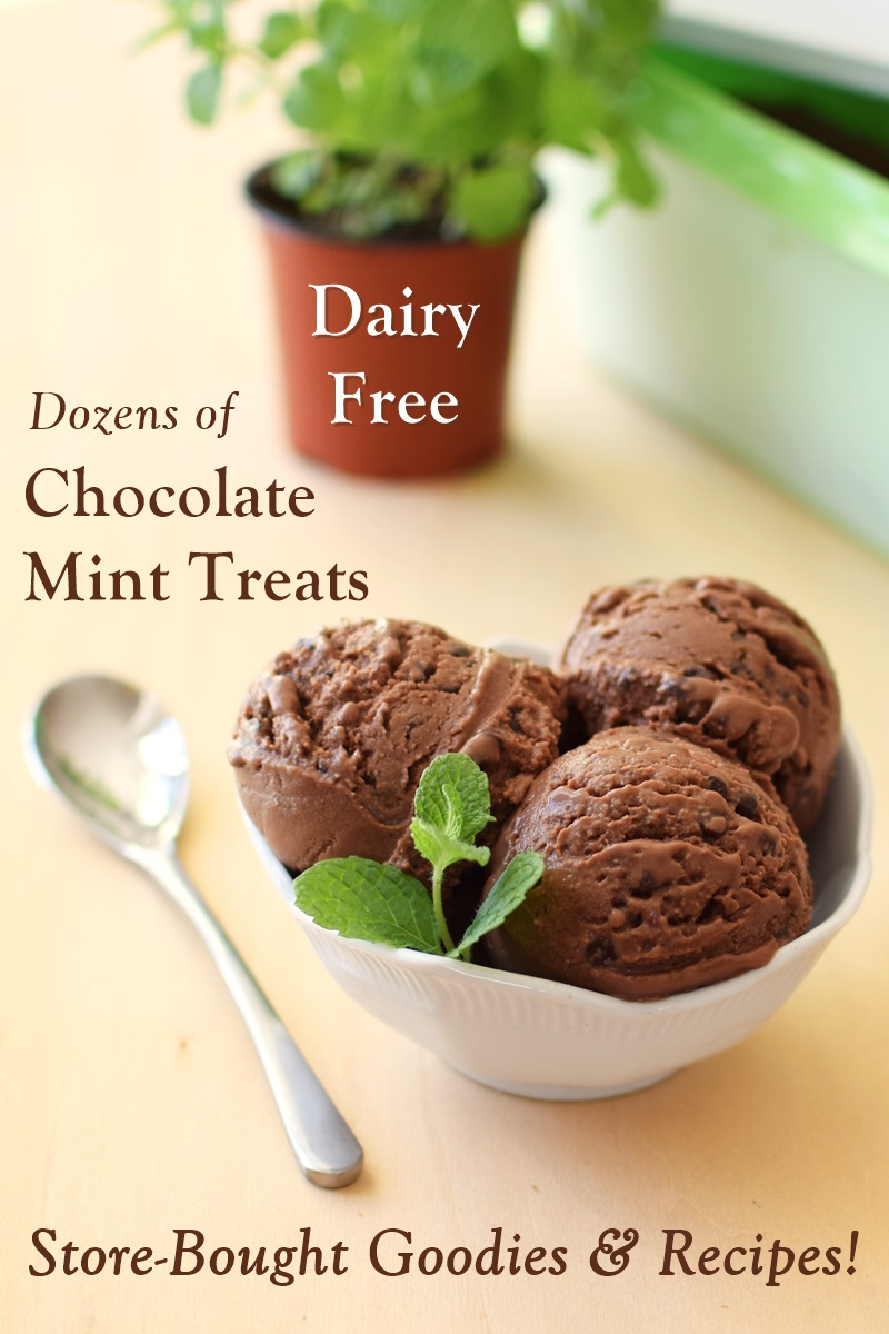 40 Dairy-Free Chocolate Mint Treats from Store-Bought to Homemade